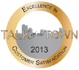 Talk of the Town 2013 - Customer Satisfaction