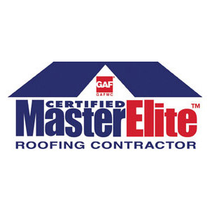 Master Elite Roofing Contractor Award