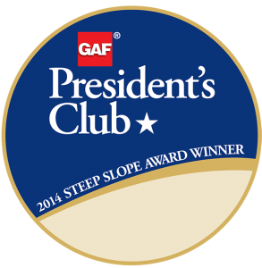 GAF President's Club Award Winner