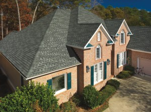 GAF Timberline HD Slate House